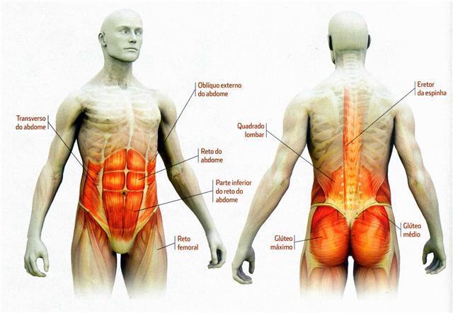 Ejercicios de abdominales, glúteos y lumbares para fortalecer o ...