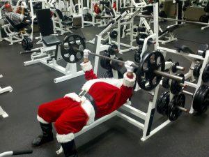 Ejercicio físico o entrenamiento en Navidad