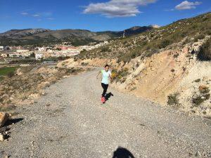Entrenamiento de cuestas para corredores