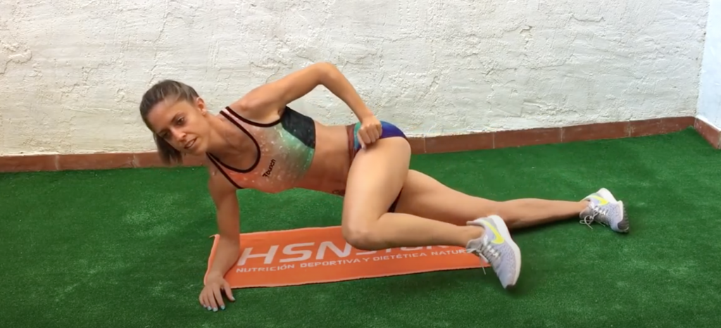 Cómo entrenar el core en corredores